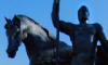 Памятник Первопоселенцу на ул. Кирова